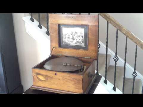 Polyphon Music Box: Waltz