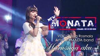 Download NEW MONATA - HARUSNYA AKU - TASYA ROSMALA - FUJI AUDIO