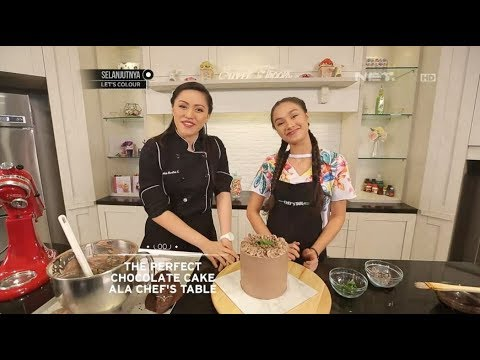 Chef's Table - The Perfect Chocolate Cake Ala Chef's Table with Caitlin Halderman