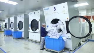 Laundry Machine Working Video