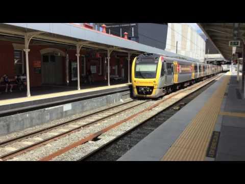 Brisbane trains Vlog 4 South Brisbane