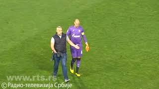 Zvezda - Zlatibor, navijač uleteo na teren na utakmici bez navijača