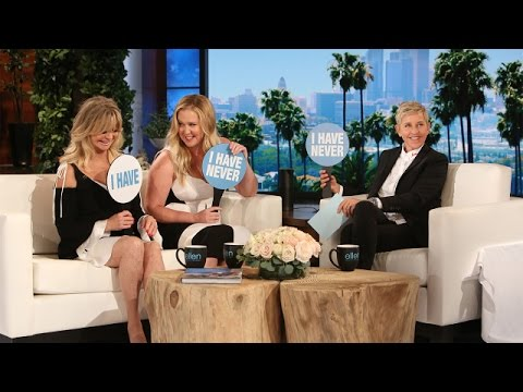 Amy Schumer and Goldie Hawn Play 'Never Have I Ever' - YouTube