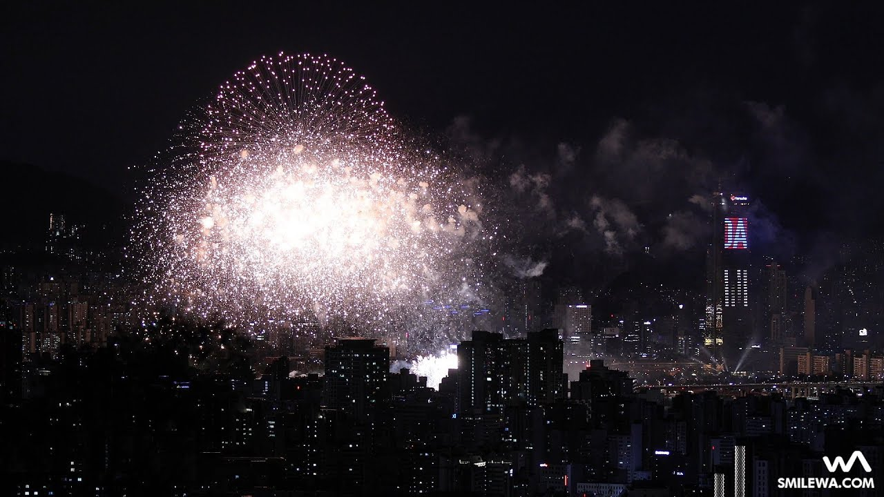 서울세계불꽃축제 2019 Seoul International Fireworks Festival / 한국팀 풀버전 Filmed in 4K by -wA-