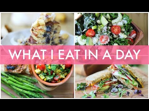 What I Eat in a Day | Healthy Summer Recipes