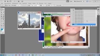 Работа с инструментами в программе Adobe Photoshop часть 1