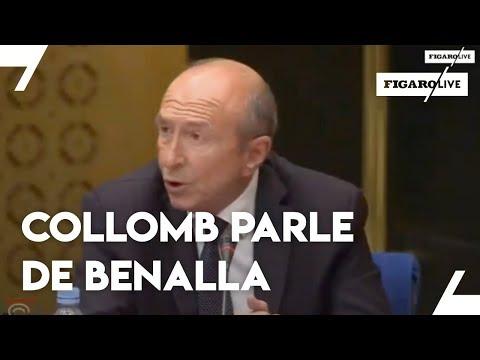 """Collomb """"ne savait pas"""" pour le port d'arme de Benalla"""