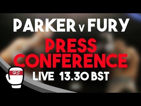 Joseph Parker vs Hughie Fury | FINAL HEAD-TO-HEAD PRESS CONFERENCE LIVESTREAM