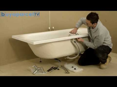 How to Fit Bristan Easy Fit Bath Taps