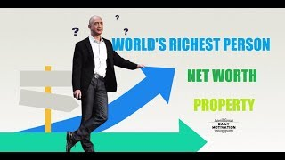 WORLD'S RICHEST PERSON || Jeff Bezos || Facts || Success Plan || DAILY MOTIVATION.
