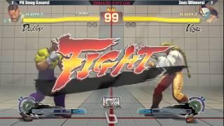Next Level Battle Circuit 146 - USF4 - Grand Final - PIE Smug (Dudley) vs Zeus (Vega)