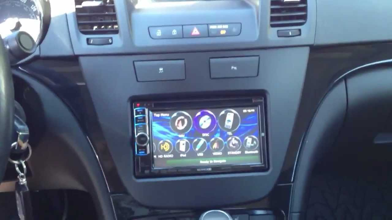 First Buick Regal With Double Din Aftermarket Radio