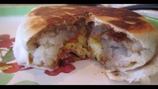 Diy Taco Bell Breakfast Review: Am Crunchwrap Tutorial