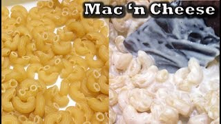 Mac and Cheese (Macaroni Keju) 3 Bahan Saja