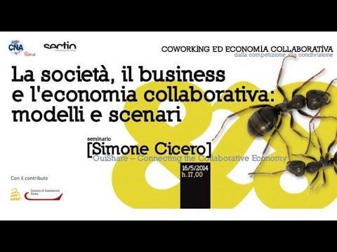 La società, il business e l'economia collaborativa: modelli e scenari