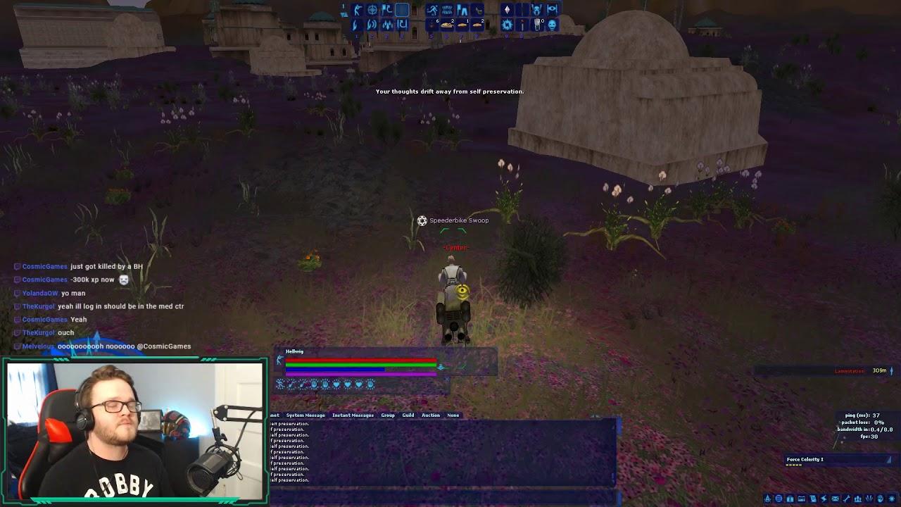 A Bounty Hunter Has Claimed a Life - SWGEmu STREAM HIGHLIGHT