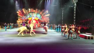 Ringling Bros Circus Xtreme opening scene