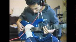 RHCP Red Hot Chili Peppers - Meet Me At The Corner [Bass Cover]