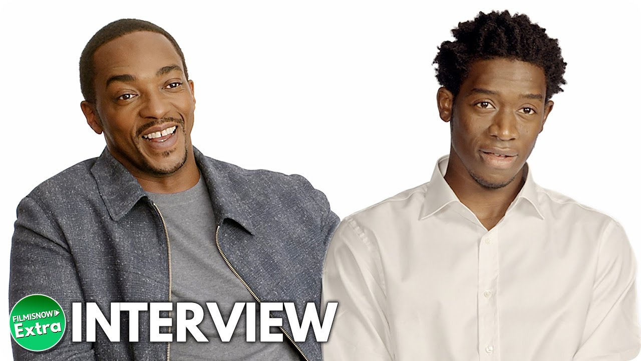 OUTSIDE THE WIRE | Anthony Mackie & Damson Idris Official Interview