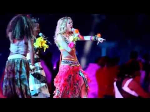 FIFA World Cup Shakira, Santana and Samba Light Up Closing Ceremony