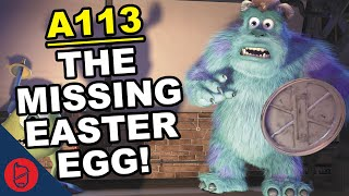 Monsters Inc and the MISSING A-113 Easter Egg