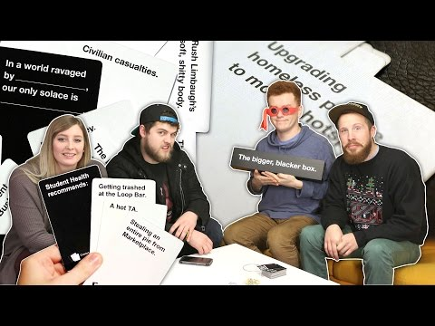 YOU SAID WHAAAT?! (CARDS AGAINST HUMANITY! w/ Preston, Red, Taylor and Evan!)
