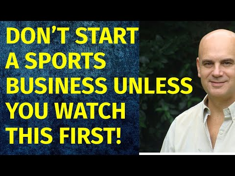 How To Start A Sports Business | Including Free Sports Business Plan Template