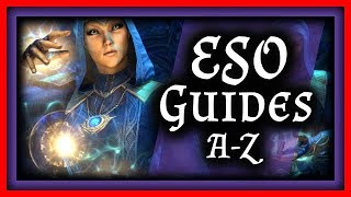 ESO Guide Charaktere OPTISCH AUFPIMPEN? Tipps & Tricks The Elder Scrolls Online Tutorials German