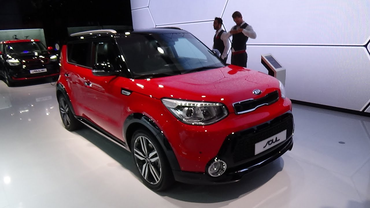 2016 kia soul dct spirit exterior and interior iaa frankfurt 2015 youtube