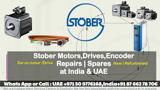 Stober Servo Motor Repairs Right Here in INDIA | UAE- Encoder Adjust Align Read Memory Connect HOW