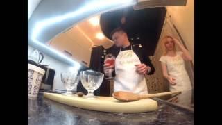 ХБ & VB KITCHEN - готовим бананы в карамели с мороженым