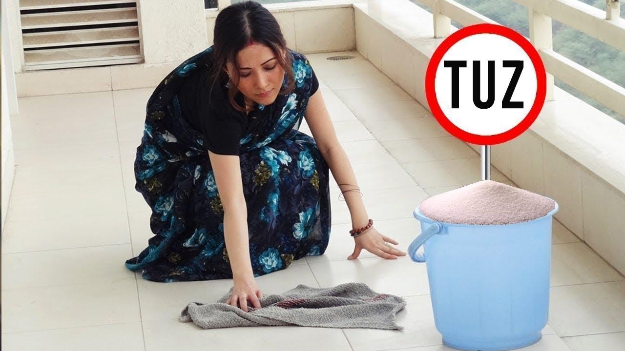 Tuzlu su ile ev temizleme