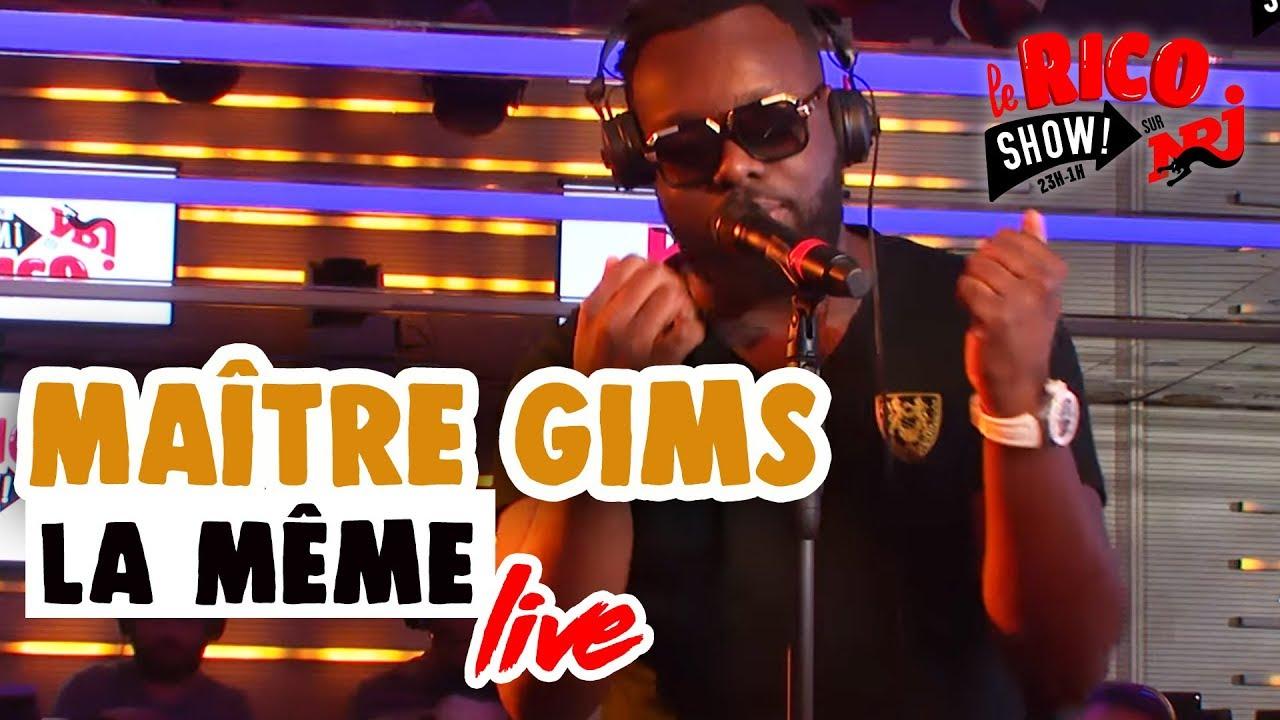 """Maître Gims chante """"La Même"""" en  LIVE - Le Rico Show sur NRJ"""