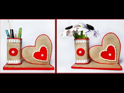 DIY Craft Ideas Best Out Of Waste/Twine Craft Idea/Jute Craft/Recycled materials Craft