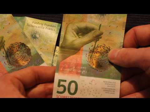 Swiss Francs New 50 Franc Note