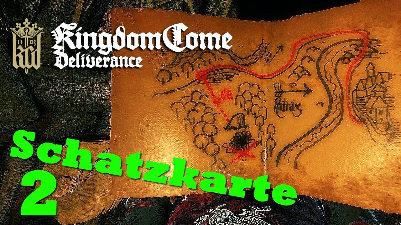 kingdom come deliverance uralte karte 2 Uralte Karte 2 ☆ KINGDOM COME: DELIVERANCE ☆ Schatzkarte [GER