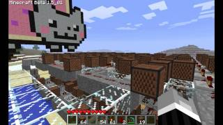 Minecraft Note Blocks - Nyan Cat