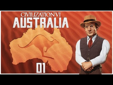 Civilization 6 as Australia - Episode 1 ...The Land Down Und