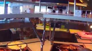 Oasis of the Seas Buffet Lunch @ Windjammer Marketplace