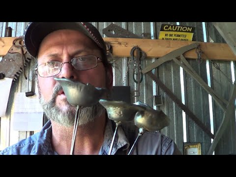 Blacksmithing - An Attempt At Rain Bells