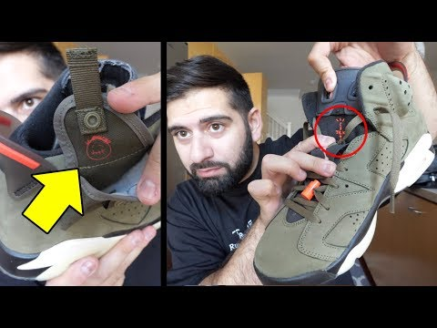 5 THINGS YOU DIDNT KNOW ABOUT THE TRAVIS SCOTT JORDAN 6 SNEAKER!!