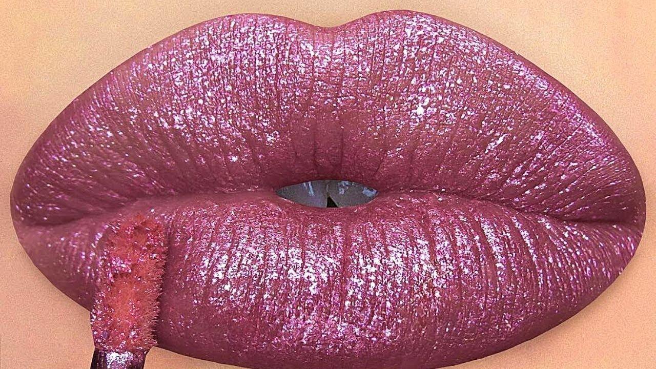 Lips Art Idea & Beautiful Lipstick Glitter 2021