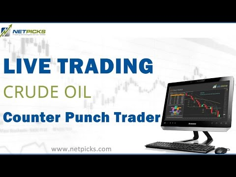 Today's Live Crude Oil Trade with the Counter Punch Trader