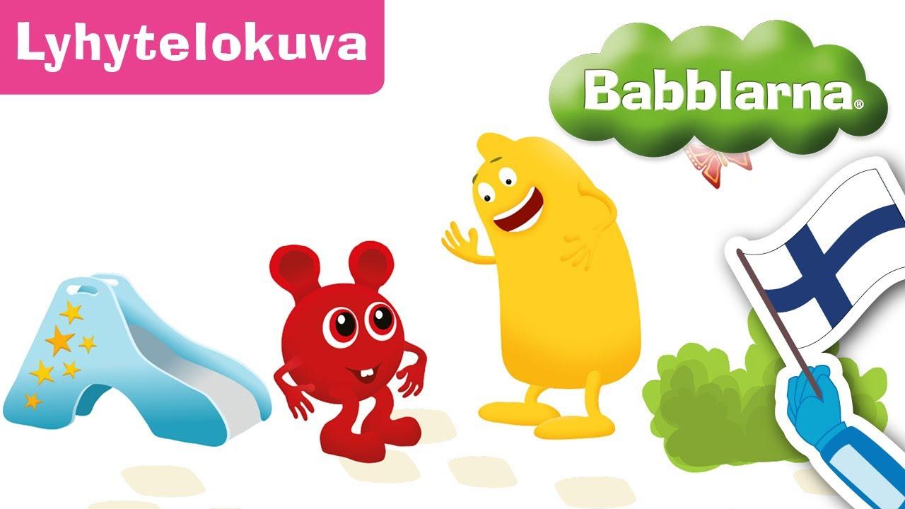 Liukumäki – Babblarna lyhytelokuva (Bobbo & Diddi)