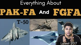 everything about pak fa t 50 and fgfa