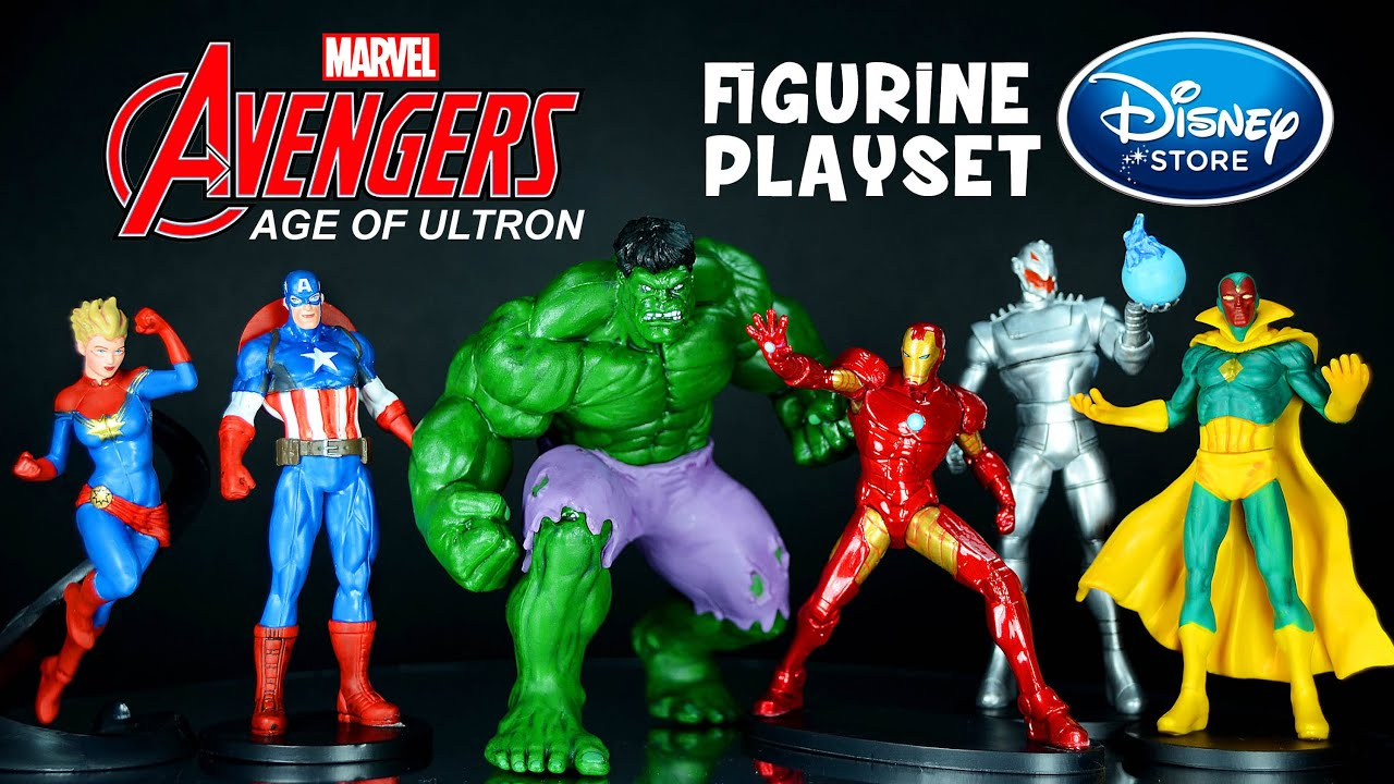 Marvel\'s The Avengers: Age of Ultron Figurine Playset Disney Store ...