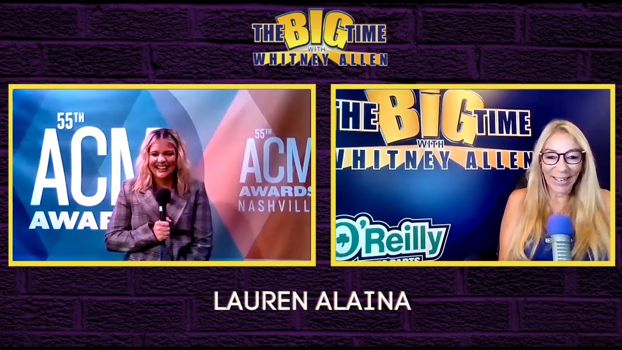 Lauren Alaina on The Big Time with Whitney Allen