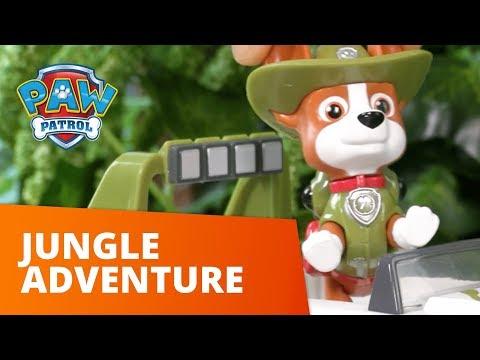 PAW Patrol | Tracker's Jungle Adventure | Toy Episode