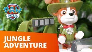 Щенячий патруль | Слідопит пригоди в джунглях епізод | іграшки
