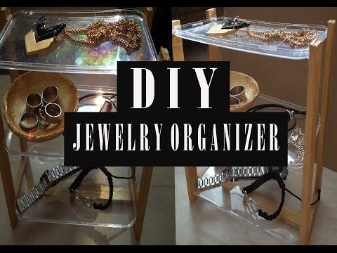 DIY URBAN OUTFITTERS JEWELRY ORGANIZER | (RECYCLING) ROOM DECOR